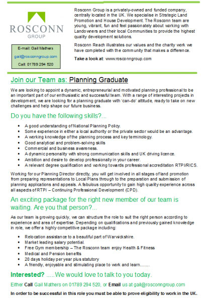 Exciting Opportunity for Planning Associate to Join the Team - Image 2