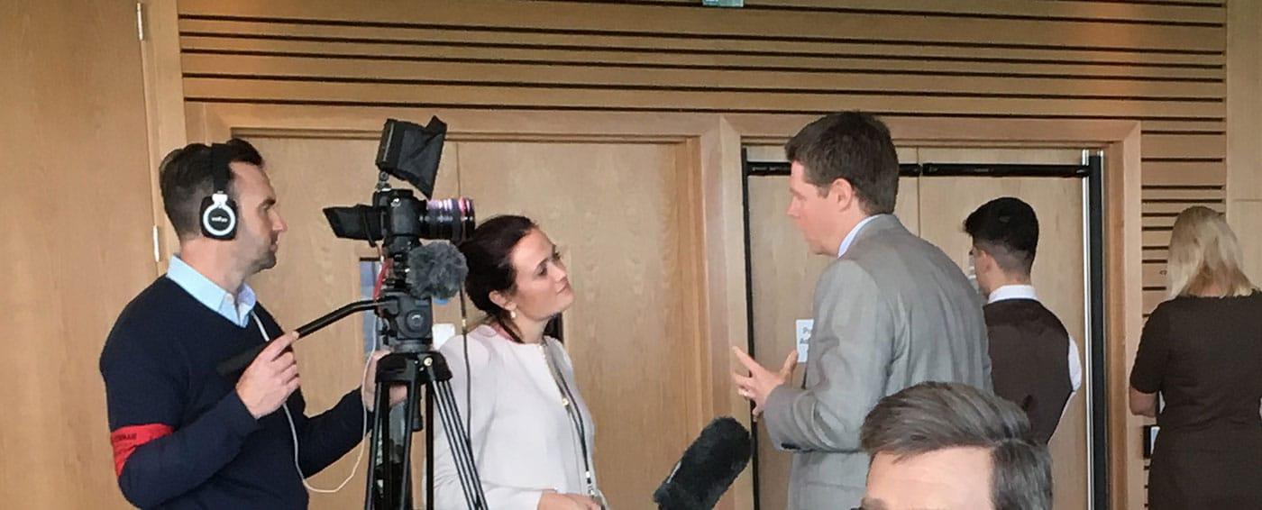 News - Rosconn Founder, Dan O'donnell - Interview at Cheltenham Club - Image