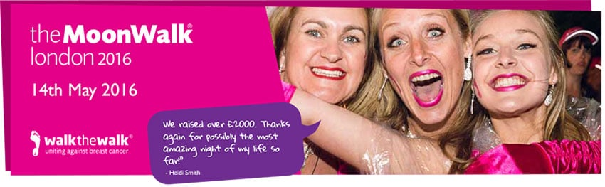 News - Group - Moonwalk for Breast Cancer - Image