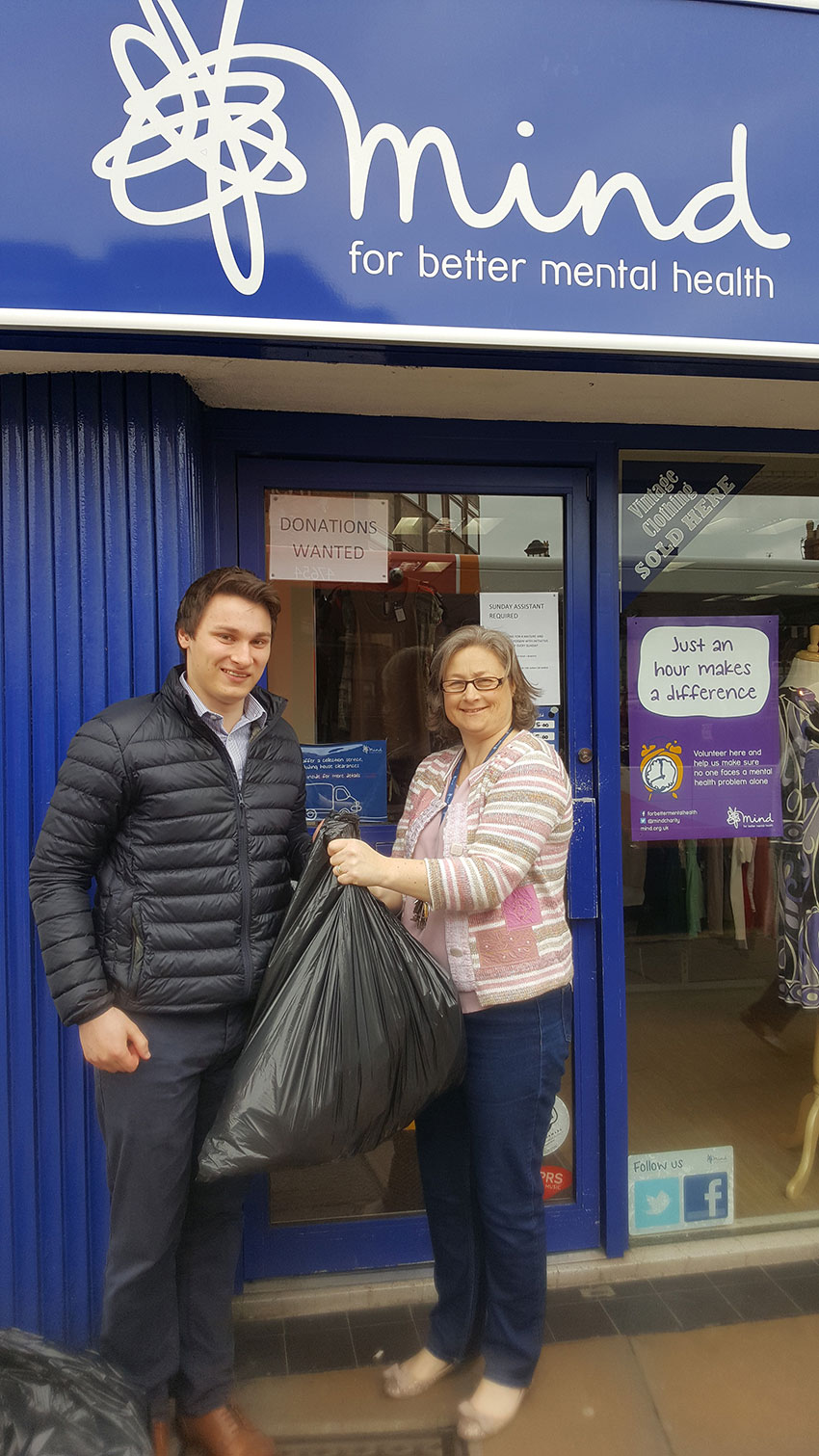 News - Group - Rosconn Support Stratford Charity 'Mind' - Image