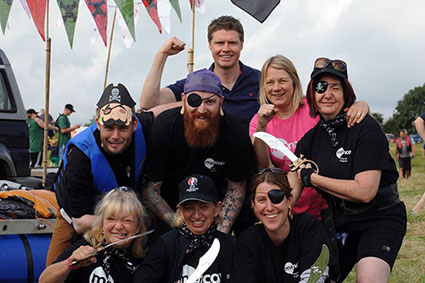 News - Group - Stratford Town's 40th Annual Charity Raft Race
