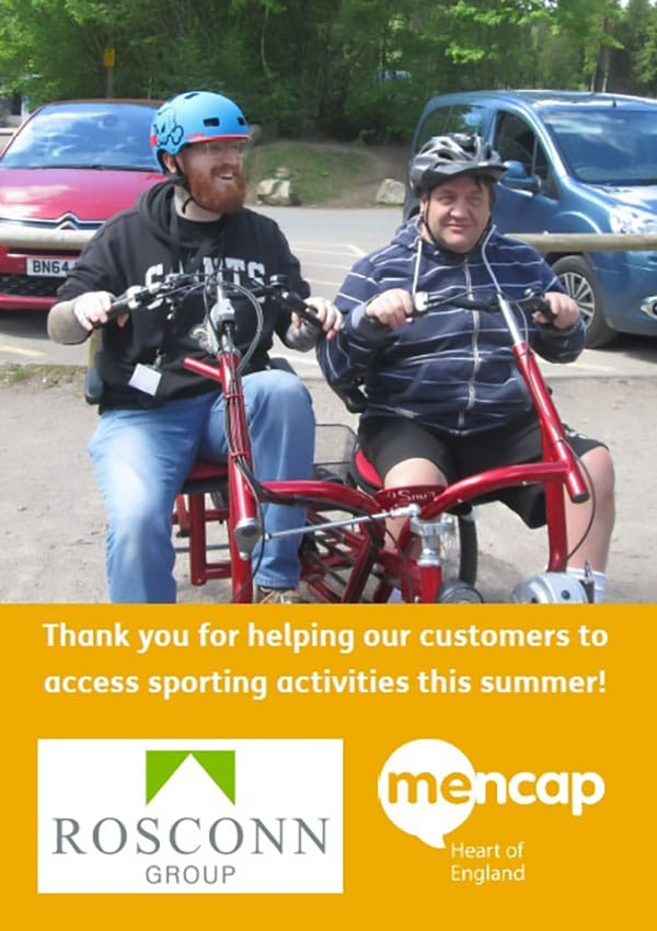 News - Group - A Thank You from Mencap Heart of England